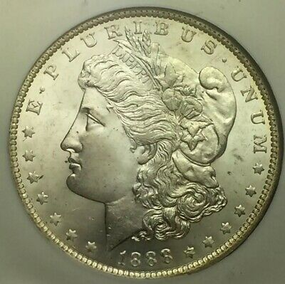 UNCIRCULATED 1888 O Morgan Dollar NGC MS64