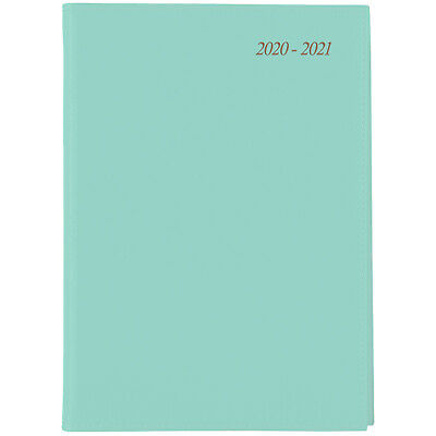 Cumberland Soho 2020-2021 Financial Year Diary A5 Day to Page Mint 51SFY