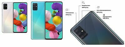 Samsung Galaxy A51 SM-A515F/DS Android Smartphone 16.4cm 6.5