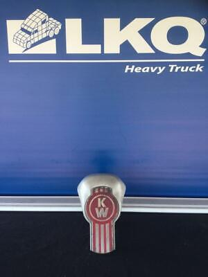 Red and Silver Kenworth Hood Emblem