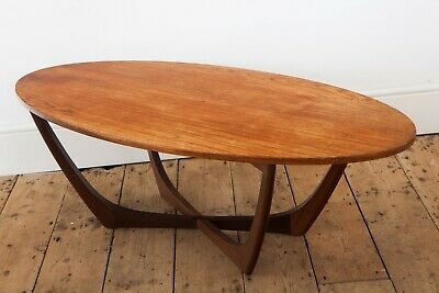 Vintage Beithcraft Oval Coffee Table