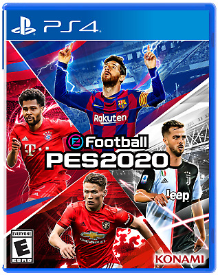 Efootball Pes 2020 pro Evolution Soccer PS4 PLAYSTATION 4 Rápido