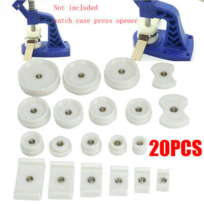 20 Pcs Replacement Round Rectangular Watch Back Press Fitting Dies Accessory UK