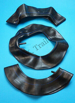 """Pack of 3 Replacement Inner Tubes 480 / 400 x 8 for 8"""" Trailer Wheels / 350 x 8"""
