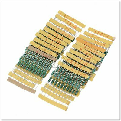 200Pieces Electronic Parts 1/2W 20 Value 0410 DIP Color Wheel Inductor 1UH~4.7MH