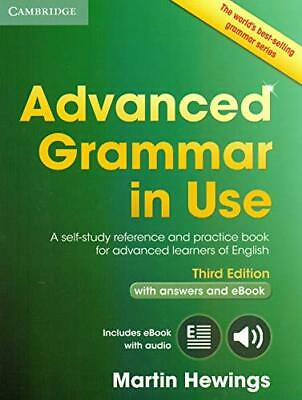 Advanced Grammar in Use Book with Answers and Interactive eBo New Paperback Book