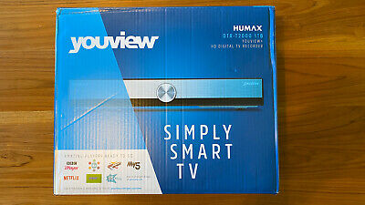 HUMAX DTR-T2000 YouView Freeview HD Recorder - 1 TB - Boxed