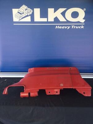 Red 2001 Volvo VNL RH Trim Panel Below A-post / Above Fender Extension
