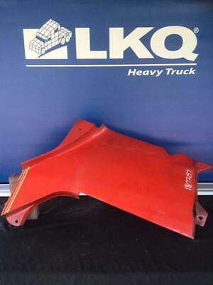Red 2001 Freightliner Century 120 LH Trim Panel Below A-post / Above Fender Ext.