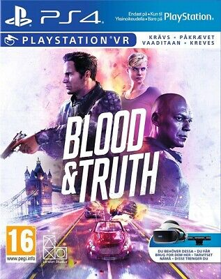 PS4 Blood and Truth PS VR