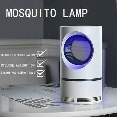 Electric UV LED Light Mosquito Killer Insect Fly-Bug Zapper Trap Catcher Lamp.uk