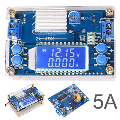 5A DC-DC step-down power supply Converter adjustable module with LCD display .UK