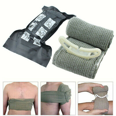 UK.British Army Issue Bandage Trauma Aid Wound Field Sterile Dressing Israeli FF