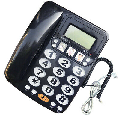 Clear Sound Landline Phone Large Button Corded Telephones Home Telephones Call