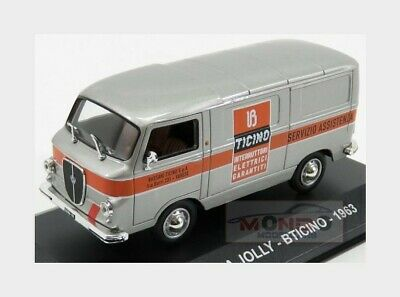 Lancia Jolly Van Bticino 1963 Silver Orange Edicola 1:43 VPDC082 Miniature