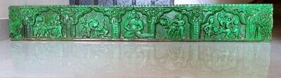 Ancient Old Hand Carved Erotic Wooden Panel