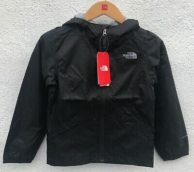 The North Face Girls Waterproof BLACK Rain Jacket $55 Size: S