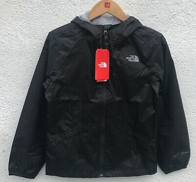 The North Face Girls Waterproof BLACK Rain Jacket $55 Size: M
