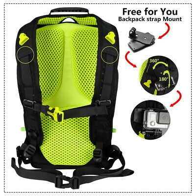 Outdoor Waterproof Digital Camera Bag Backpack  SLR DSLR for Nikon Sony Canon