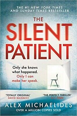 The Silent Patient By Alex Michaelides NEW Richard & Judy Paperback Fiction Book