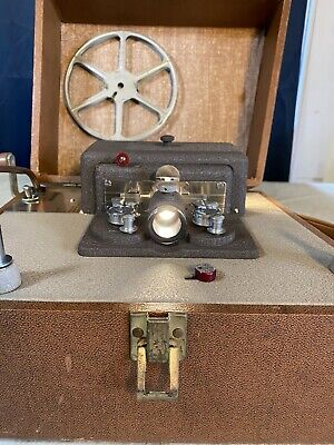 Vintage Keystone Sixty 8mm Projection Camera ~ Working Condition ~ Family Movies