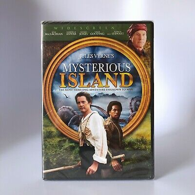 Jules Verne's Mysterious Island (DVD, 2008) Fantasy Adventure, Brand New Sealed