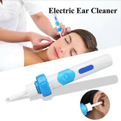 Safety Electric Cordless Vacuum Ear Cleaning Cleaner  Wax Remover Painless.uk