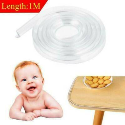 Safety Table desk Edge Corner Cushion Guard Strip Softener Bumper Protector Baby