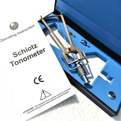 Ophthalmology & Optometry Tonometer Schiotz Type Return Accepted Medico