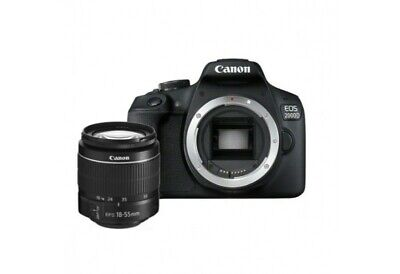 Canon EOS 2000D with 18-55mm f/3.5-5.6 DC III Lens Kit ship from EU nuovo