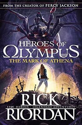 Heroes of Olympus the Mark of at New Paperback Book