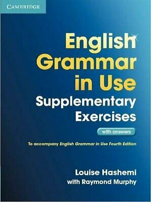 English Grammar in Use Supplementary Exercises with Answers New Paperback Book