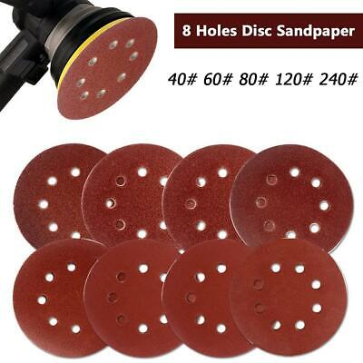 20pcs Practical Polishing Pads Burnishing Tool 8 Holes Discs Sand Paper