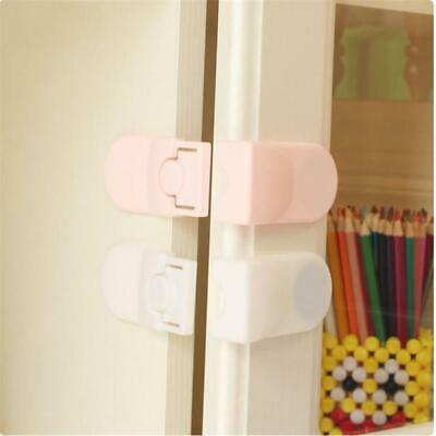 Right Angle Kids Child Safety Strap Locks Infant Protection Drawer Latches SH3