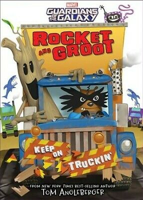 Rocket and Groot : Keep on Truckin'!, Hardcover by Angleberger, Tom, Like New...