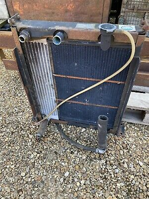Compair Holman Air Compressor With Water Cooled Engine Radiator & Oil Cooler