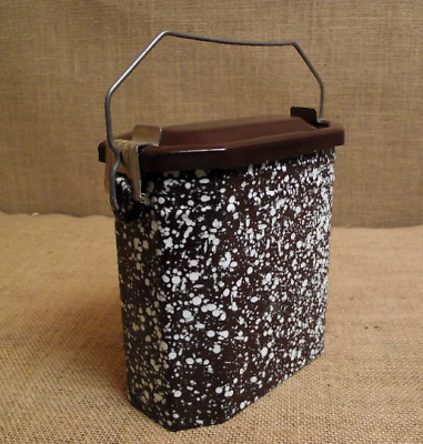 Ancienne gamelle cantine fer TBE compléte Antique french lunch box  tin Mint