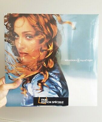 """Madonna FNAC BLUE VINYL DOUBLE Ray of light FRANCE SEALED 180g LP 2x12"""" NEW"""