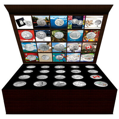 $20 for $20 Display case for 20 coins 2011 - 2015 Perfect condition - mint issue