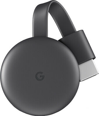 Google Chromecast 3 1080P Wireless Hdmi Display Dongle Media Video Streaming Tv