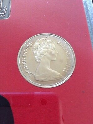1981 1p proof Coins. low Mintage of proof