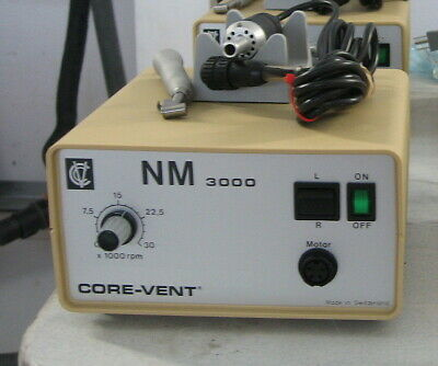 Nouvag 3000 Surgical Dental Implant Motor, straight & Contra.  Great Hobby Tool