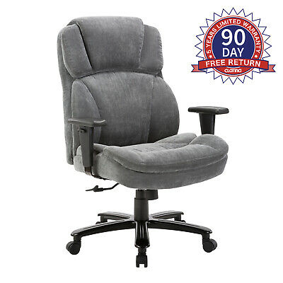 Ergonomic Big & Tall Executive Office Chair with Upholstered Swivel 400lbs