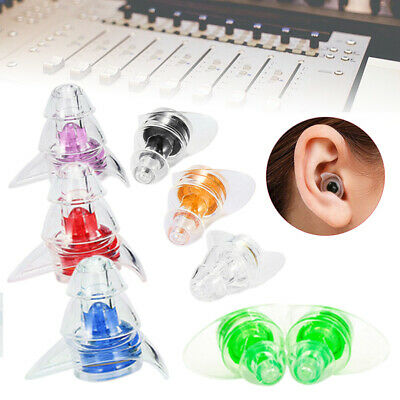 2 x Noise Cancelling Ear Plugs Hearing Protection Concerts Musicians Sleeping UK