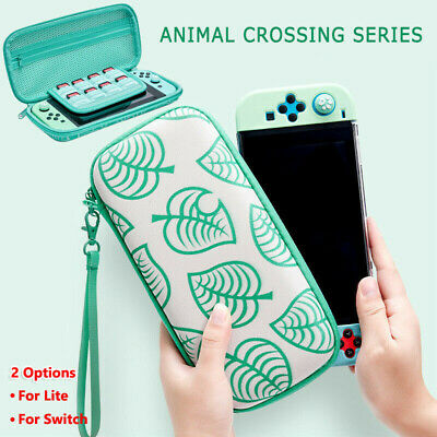 Animal Crossing Carrying Case Bag Console Card Storage Fo Nintendo Switch /Lite#