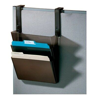 "Office Depot Brand Plastic Letter-Size Hanging 3-Pocket Wall File, 8-1/2"" x 13-"