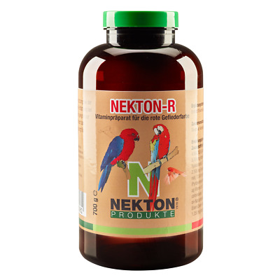 Nekton R Red Canthaxanthin Bird Feather colour Intensifier Canaries Finch (750g)