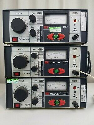 AVO Megger MHP1 Production Hipot - Lot of 3 - Fully Functional