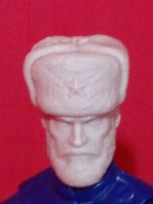 MH141 Cast Action figure HEAD SCULPT FOR USE WITH 1:18th Scale gi joe militaire