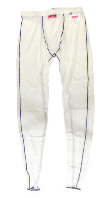 SIMPSON SAFETY Underwear Bottom Large White Memory Fit 20124LW